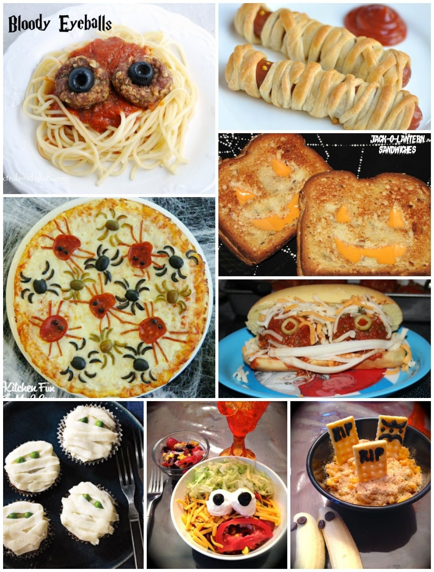 10 Cute Halloween Food Ideas For Parties monster sandwiches and fun halloween dinner ideas dinner ideas 5 2021