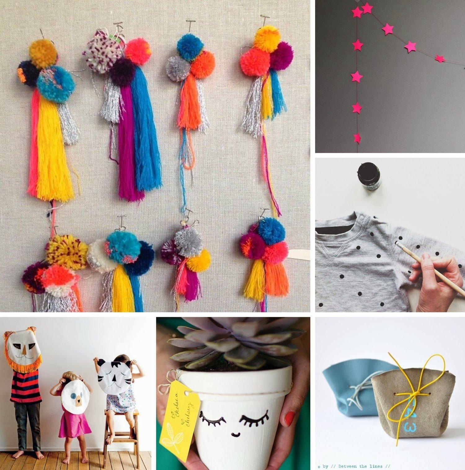 10 Pretty Handmade Gift Ideas For Women moose bird pinboard handmade gift ideas 2020