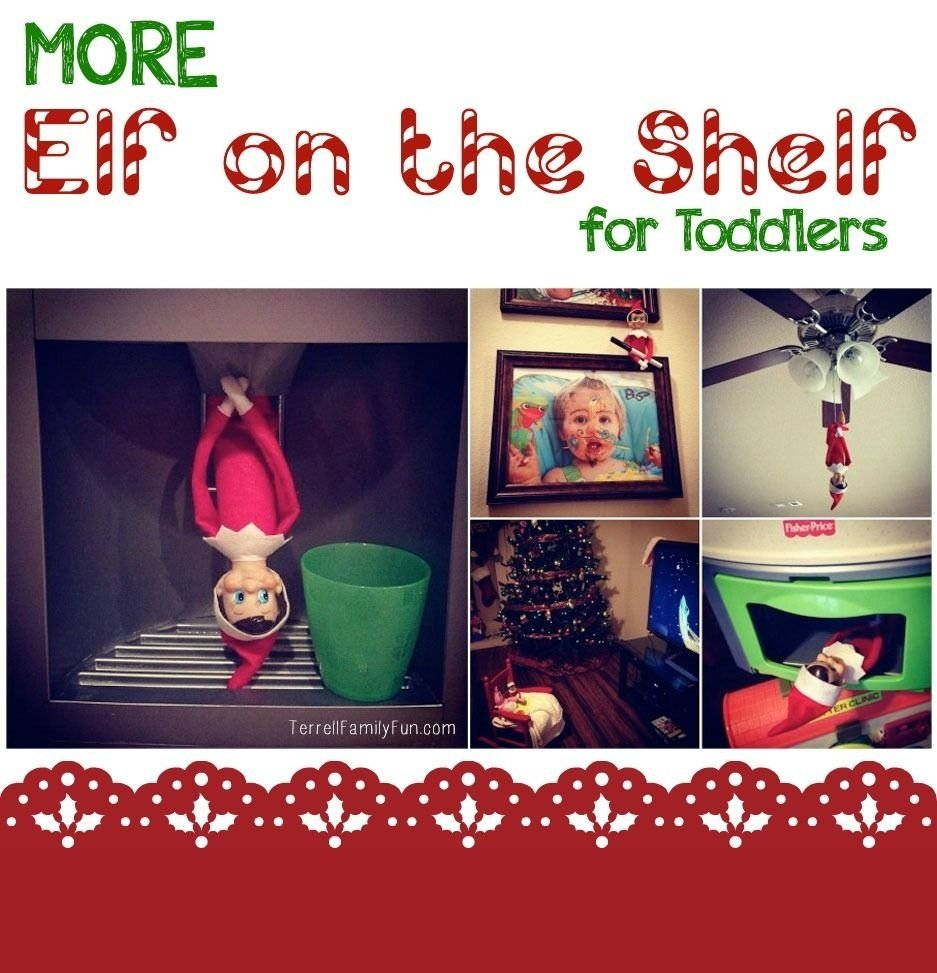 10 Fantastic Elf On The Shelf Ideas For Toddlers more elf on the shelf ideas for a toddler shelf ideas youngest 2021