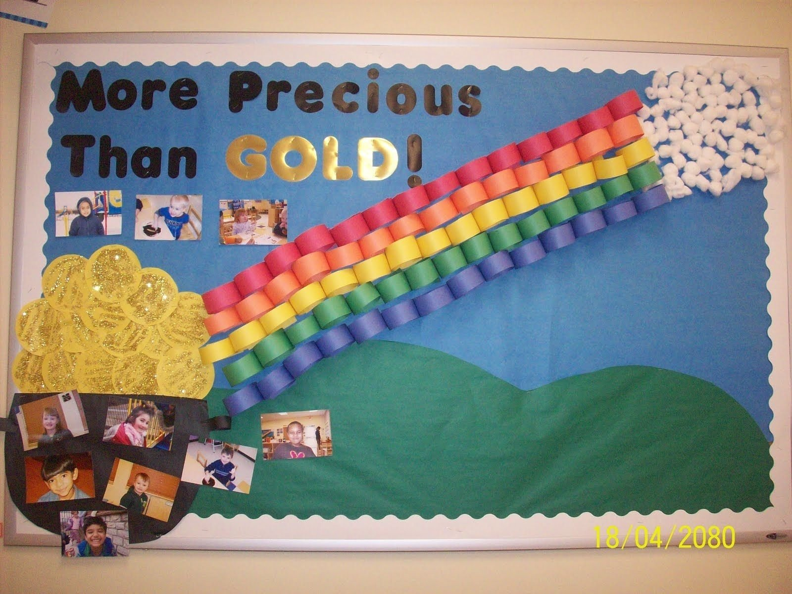 10 Most Recommended Bulletin Board Ideas For March more precious than gold st pattys day bulletin board found at