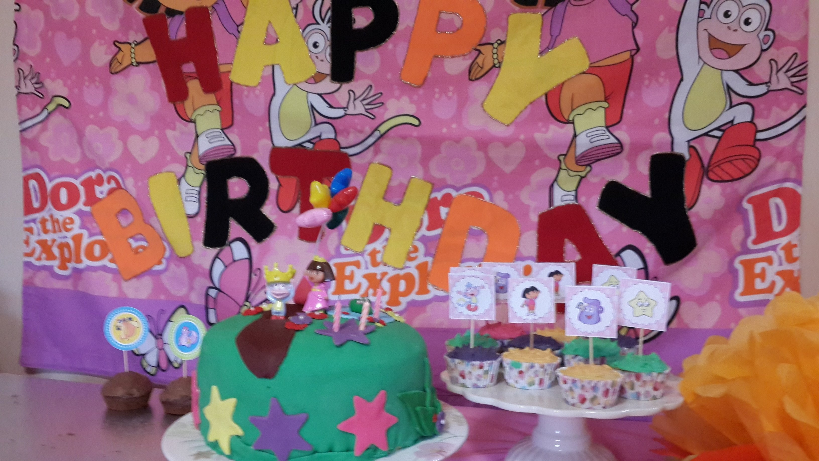 10 Lovable Dora The Explorer Party Ideas morgan lees dora the explorer birthday party ideas free templates 1