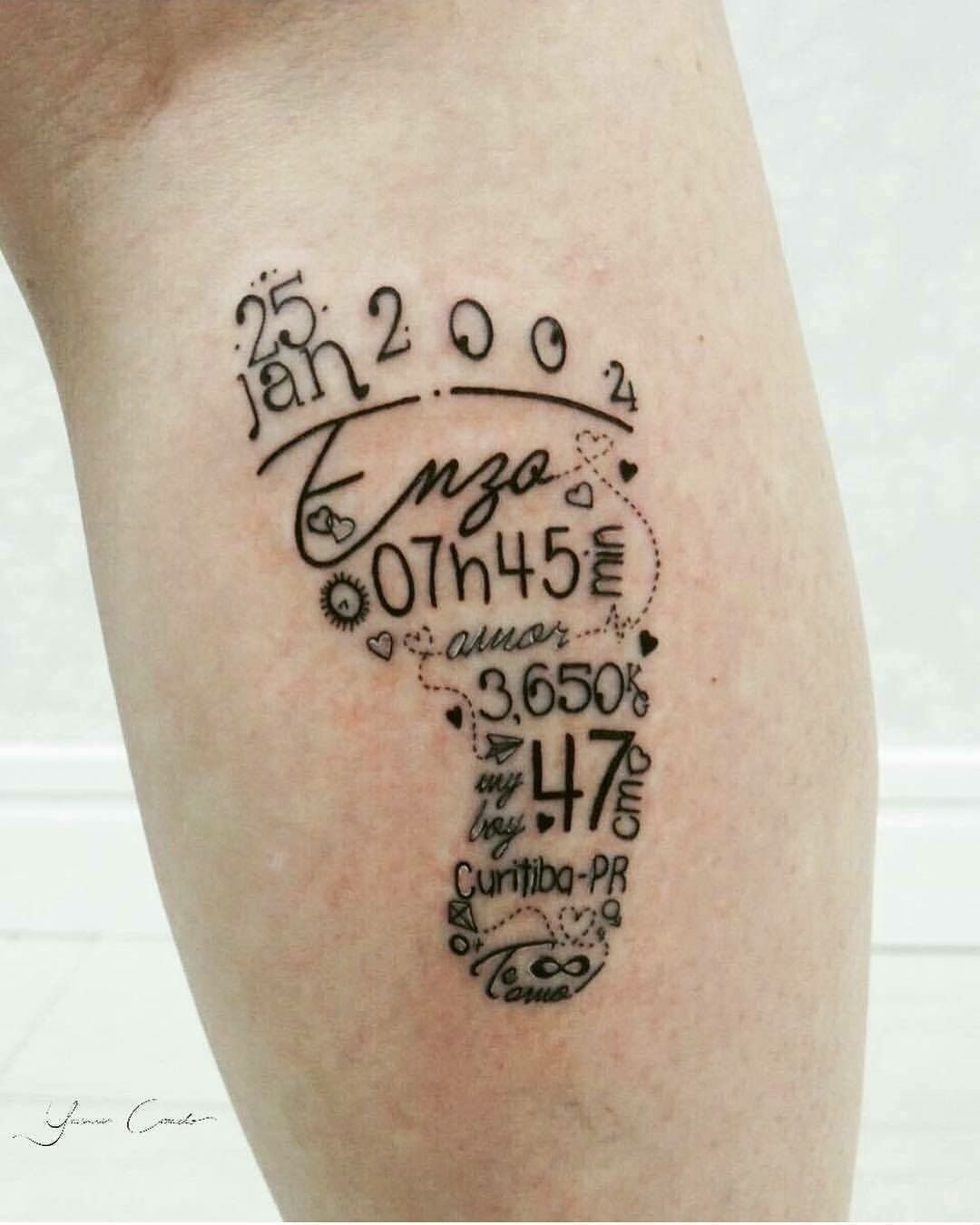 10 Elegant Tattoo Ideas For Men With Kids most def getting this when i have a child sooo so cute 1 2020