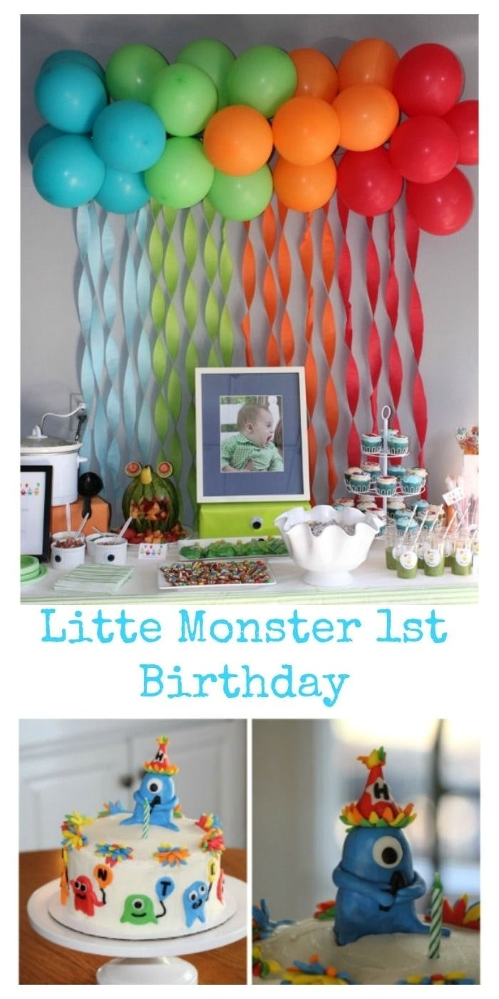 10 Famous Ideas For One Year Old Birthday Party 2019