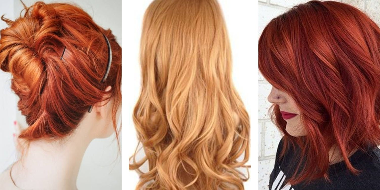 10 Ideal Hair Color Ideas For Redheads most popular red hair color shades matrix 2 2020