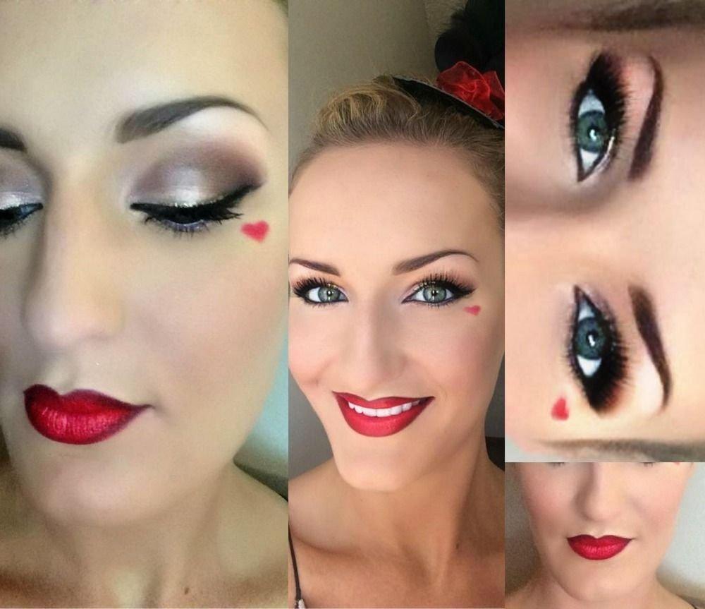 10 Trendy Queen Of Hearts Makeup Ideas motd queen of hearts queens costumes and halloween costumes