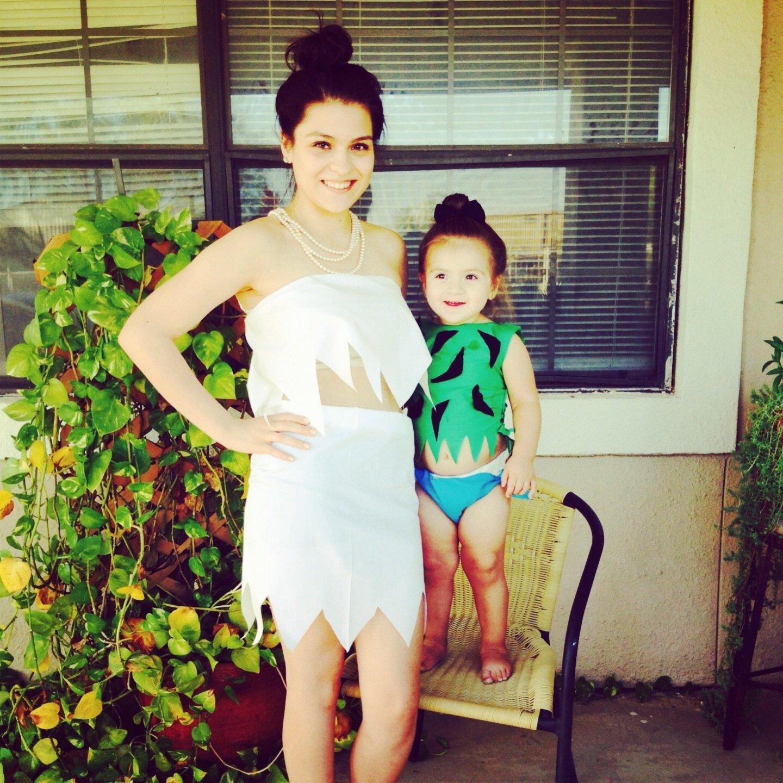 10 Most Popular Mommy Daughter Halloween Costume Ideas mother daughter halloween costume flinstones diy khloe my 2020