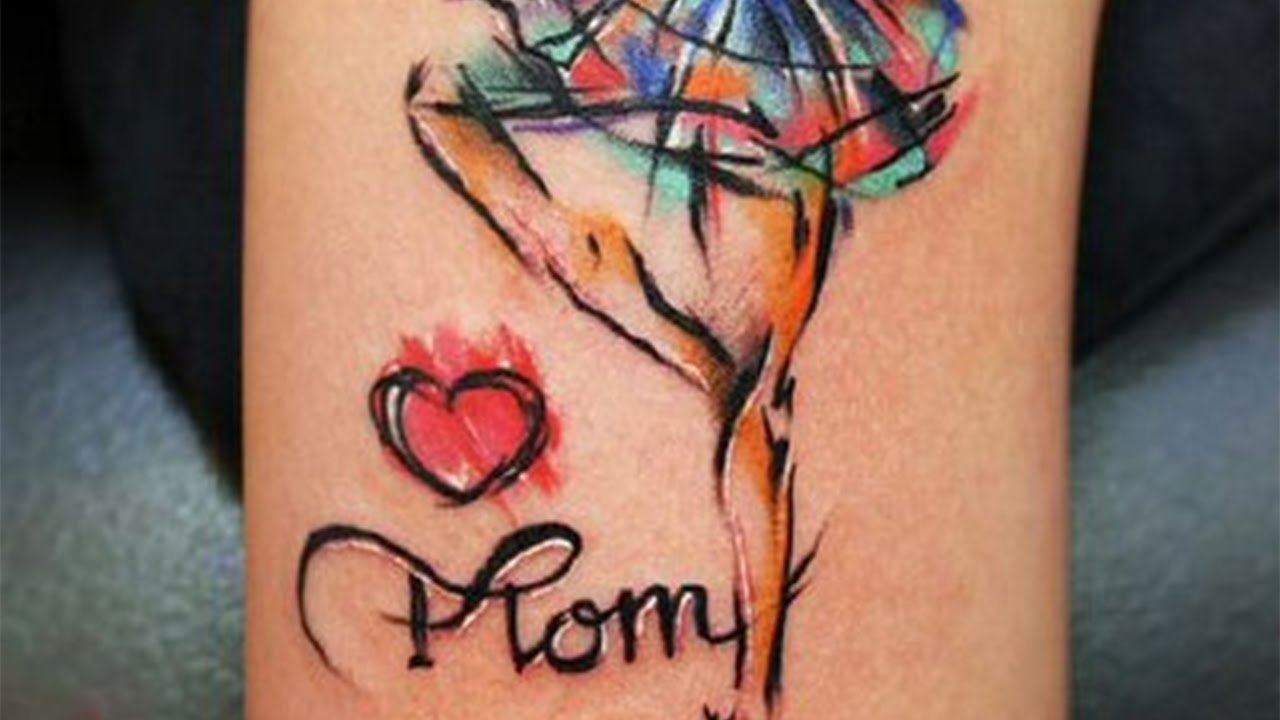 10 Spectacular Son Tattoo Ideas For Mom mother daughter tattoo ideas insane tattoo products youtube 3