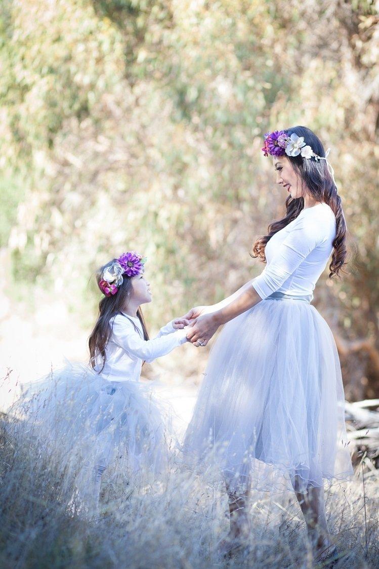 10 Spectacular Mother Daughter Photo Shoot Ideas mother daughter tutus family portrait tutus pinterest tutu 2021
