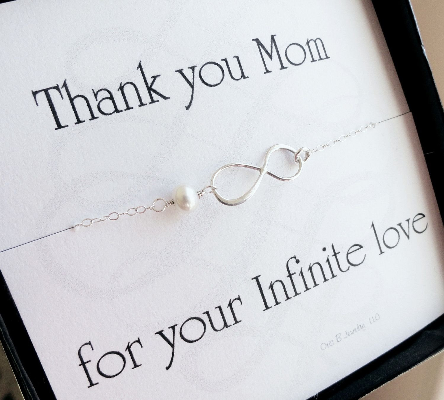 10 Lovable Mother Of The Groom Gift Ideas mother of the bride or groom gift infinity bracelets mother of the 2 2020
