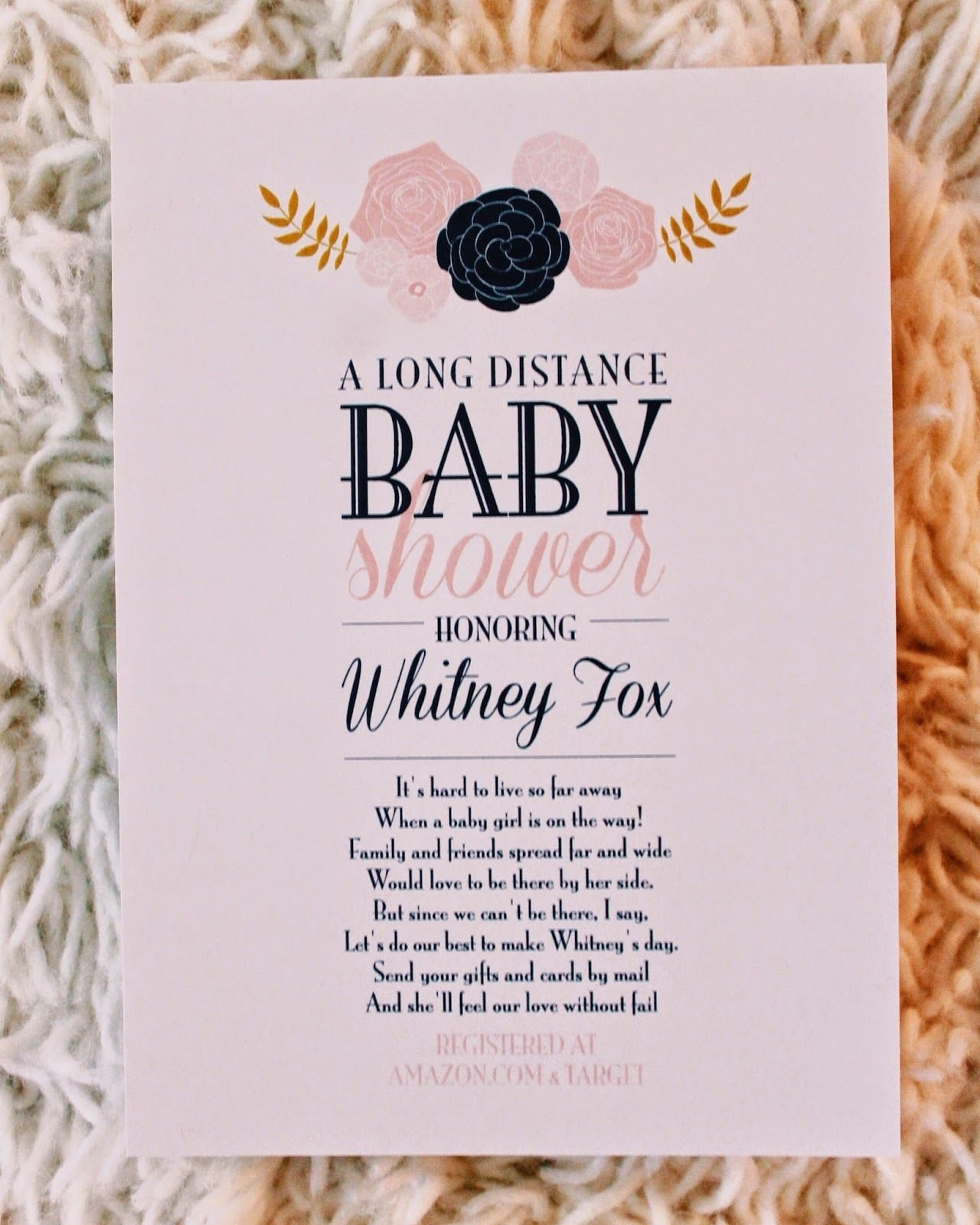 mother's day baby shower ideas you will love | long distance