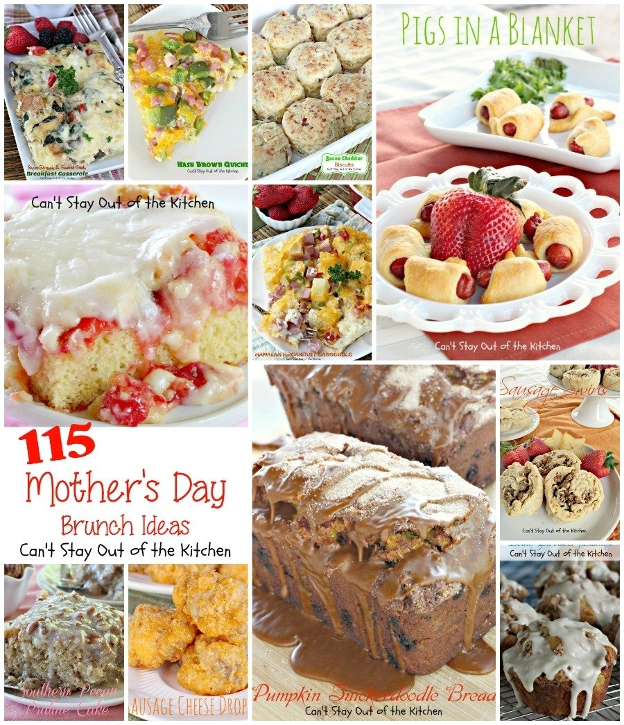 10 Unique Mothers Day Brunch Menu Ideas mothers day brunch ideas cant stay out of the kitchen 2021