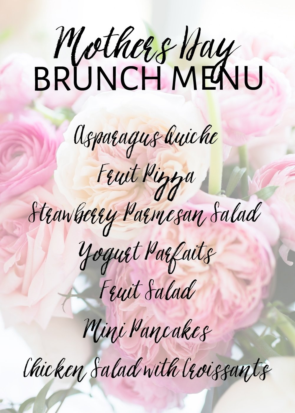 10 Unique Mothers Day Brunch Menu Ideas mothers day brunch menu ideas one stylish party 2021