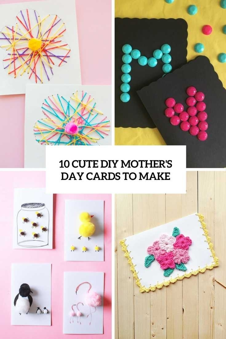 mothers day cards ideas. easy mother's day card kids can make