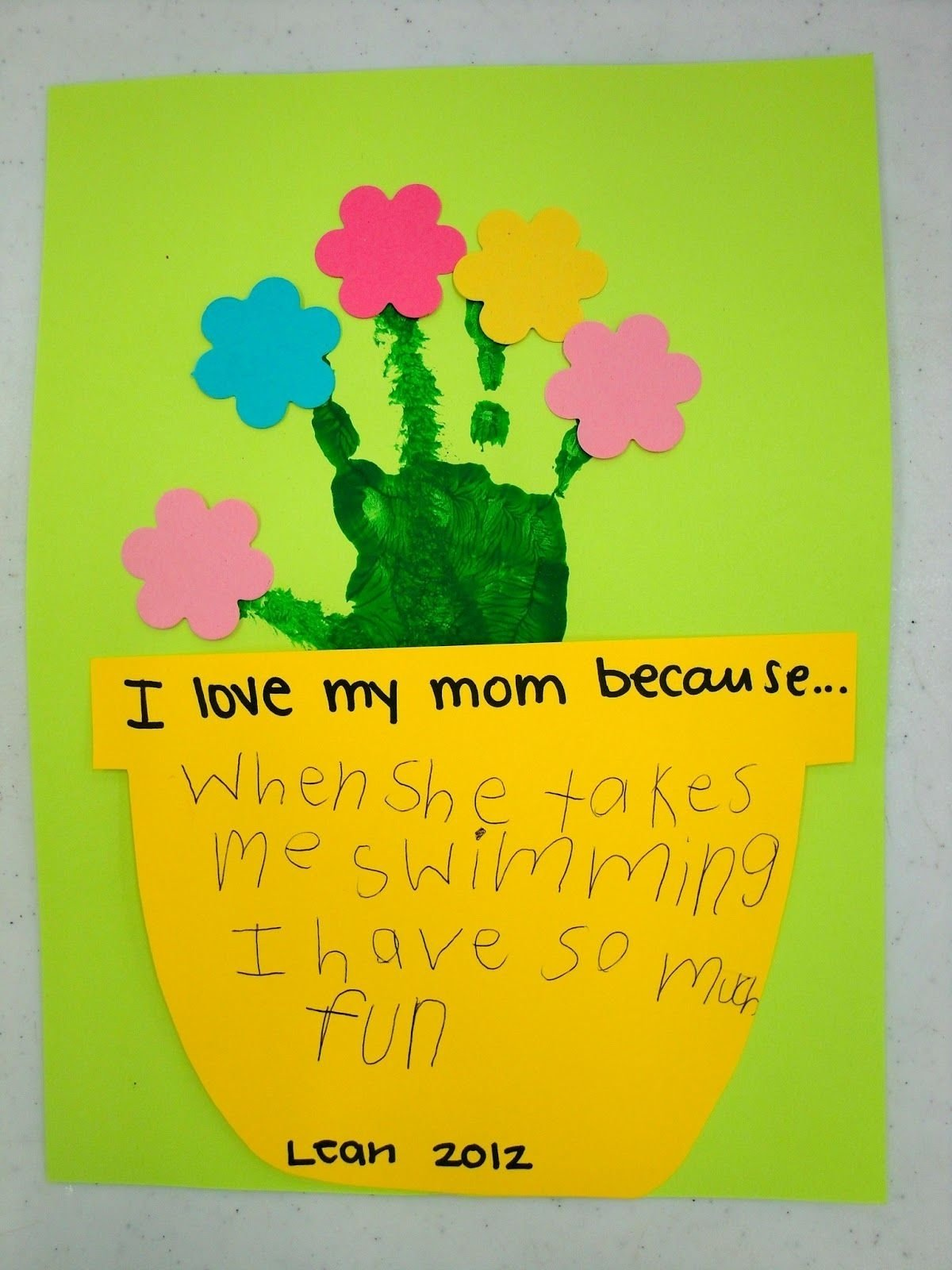 10 Spectacular Mothers Day Ideas For Kids mothers day crafts kindergarten ideas pinterest craft school 2