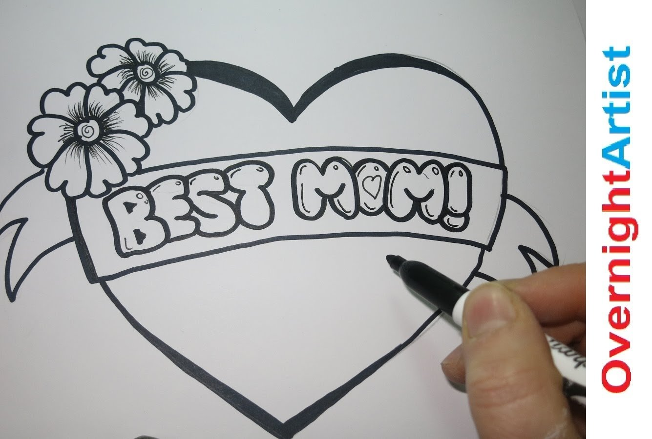 10 Pretty Ideas For What To Draw mothers day drawing ideas drawing sketch picture 2020