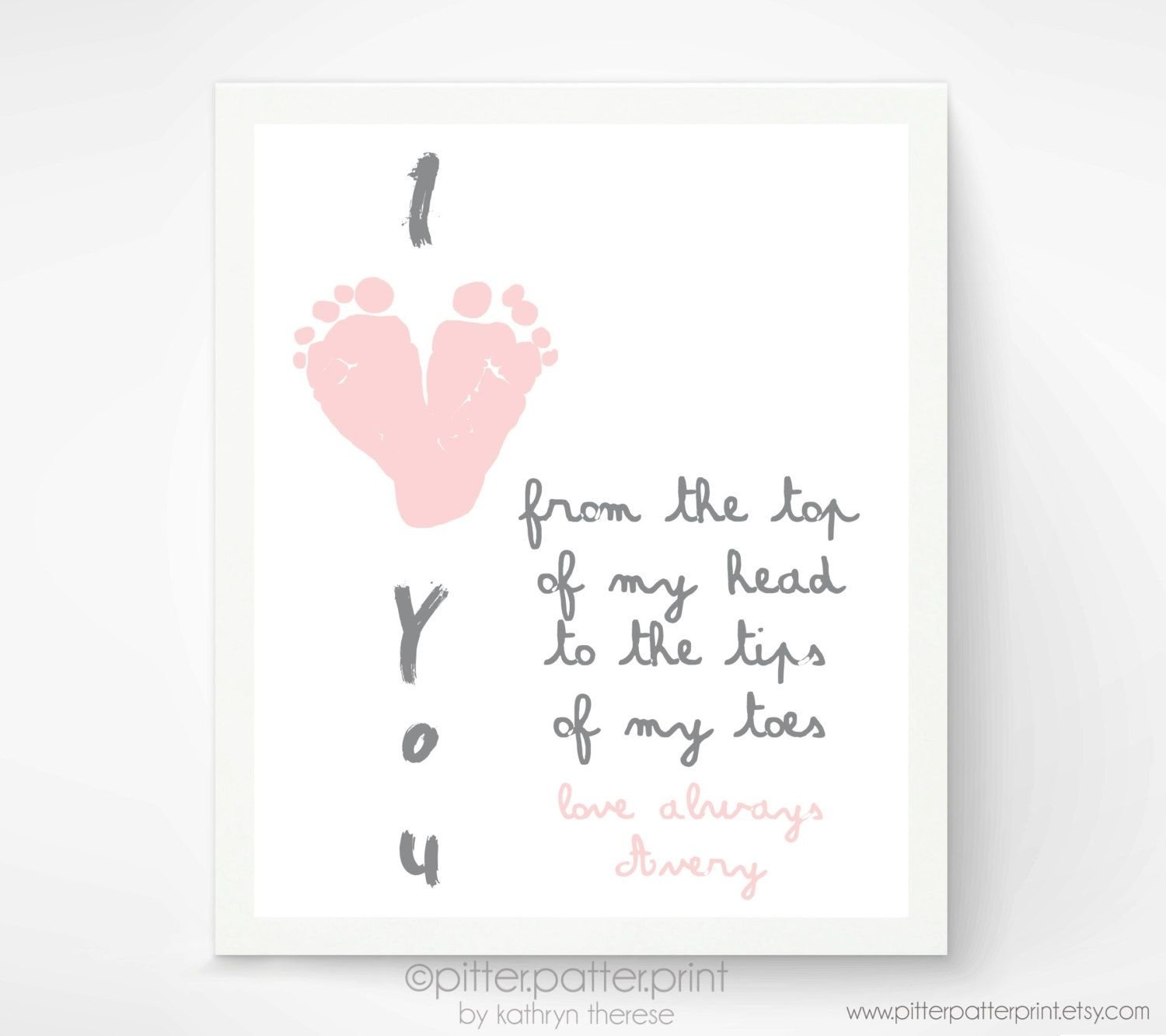 10 Lovable First Mothers Day Gift Ideas mothers day gift for grandma i love you baby footprint art 2020