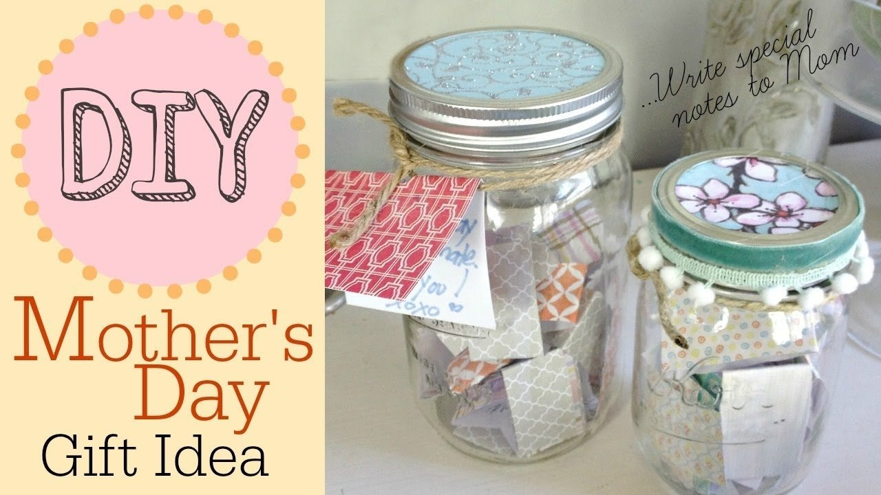 10 Awesome Homemade Birthday Gift Ideas For Mom 2019