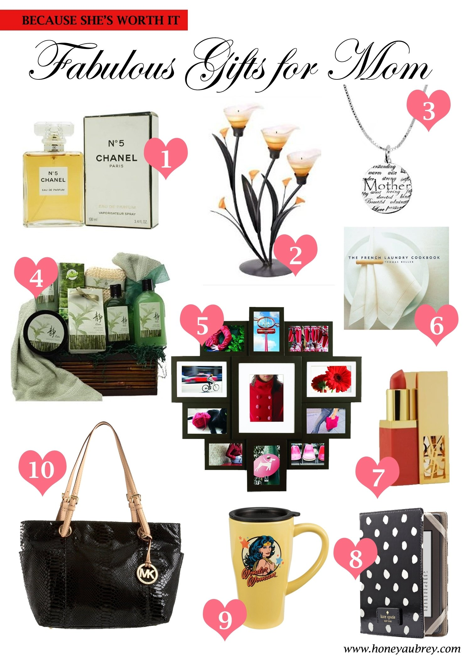 10 Attractive Ideas For Gifts For Mom mothers day gift ideas love honey 2020