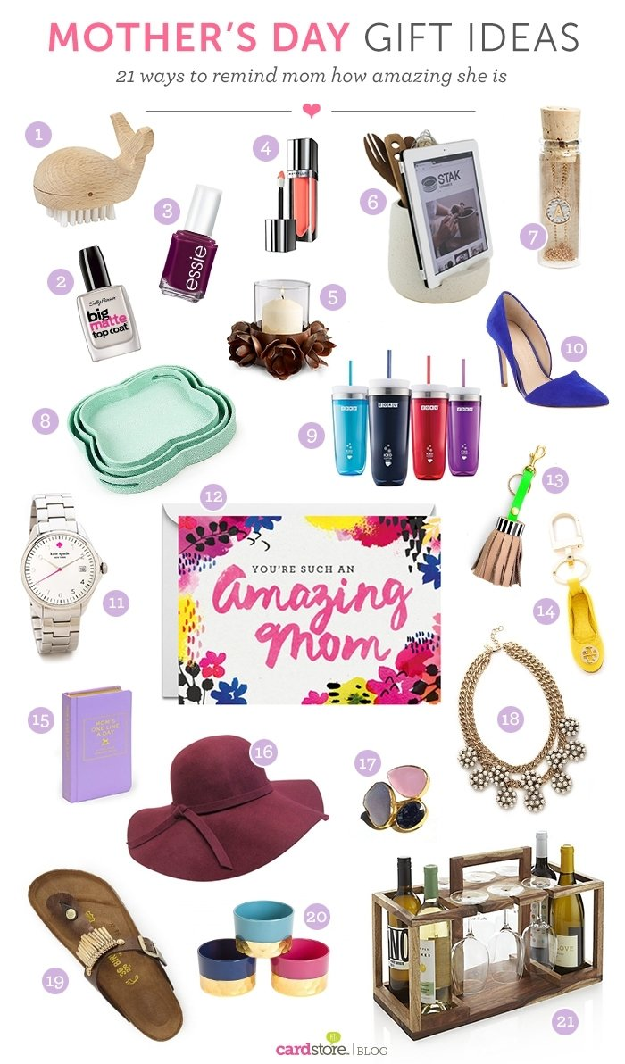 10 Stylish Gift Ideas For A Mom mothers day gift ideas thanks mom cardstore blog 1