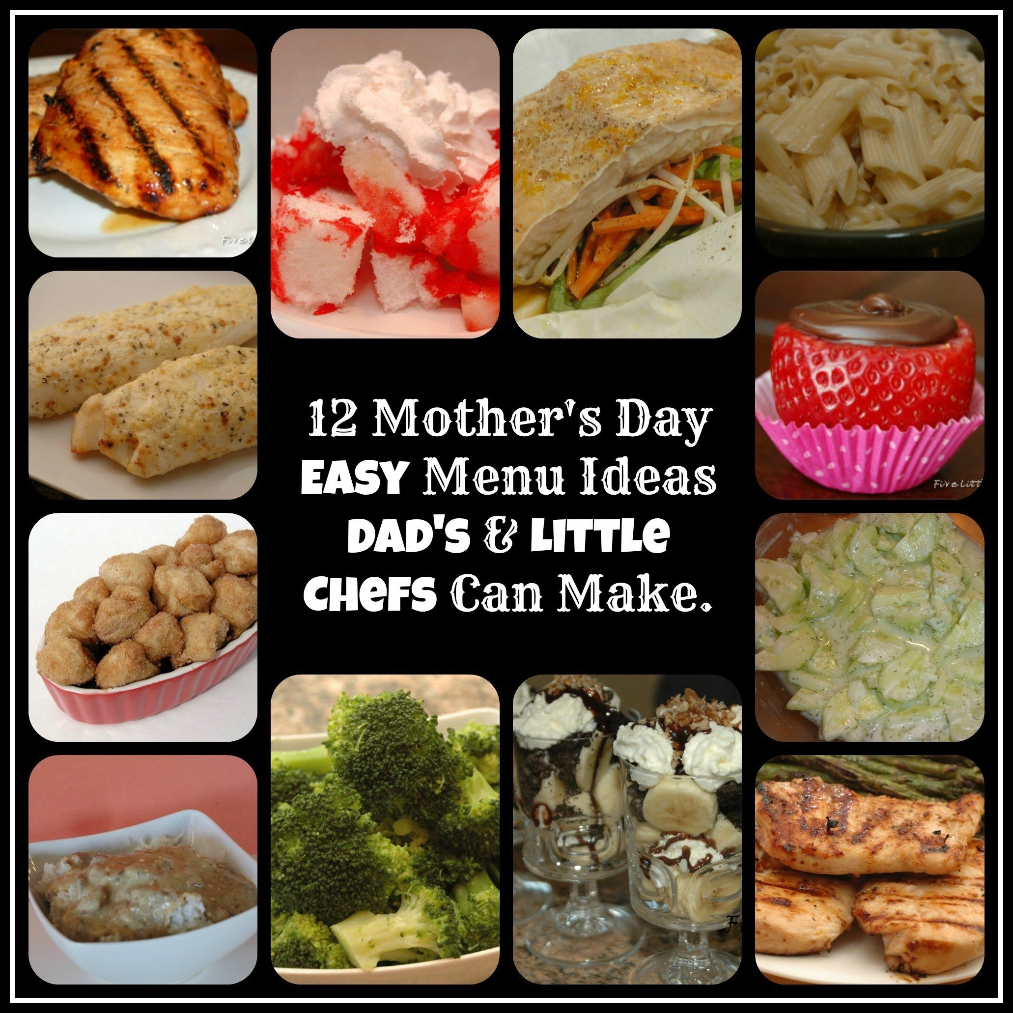 10 Perfect Mother Day Dinner Menu Ideas mothers day menu ideas five little chefs 2021
