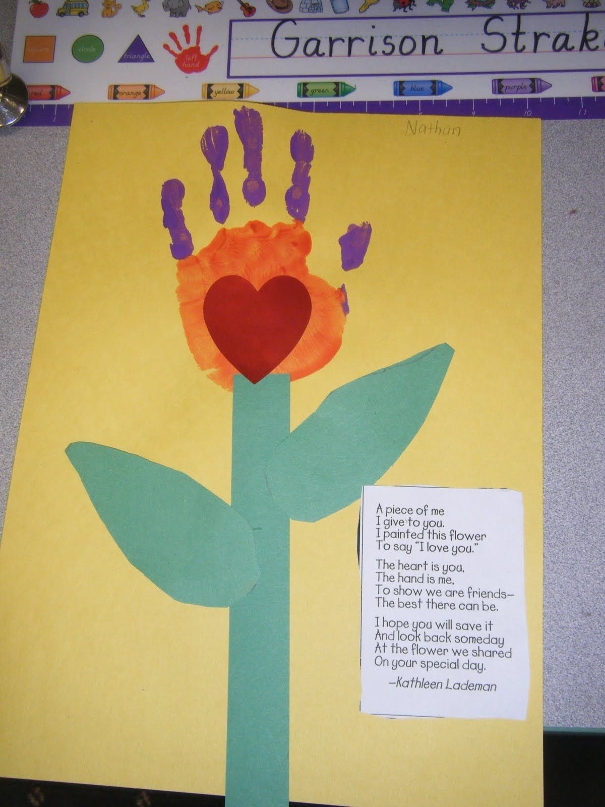 10 Perfect Cute Mothers Day Card Ideas mothers day so cute they did these last year at coreys daycare 2020