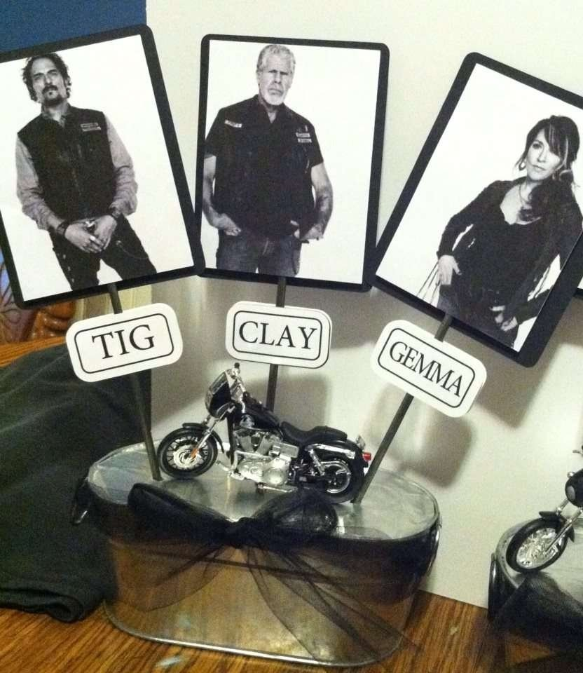 10 Stunning Sons Of Anarchy Party Ideas motorcycle birthday party ideas photo 17 of 44 catch my party 2021