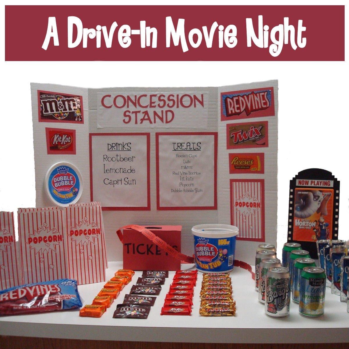 10 Most Popular Movie Night Ideas For Kids movie night ideas dollar store crafts 1 2021