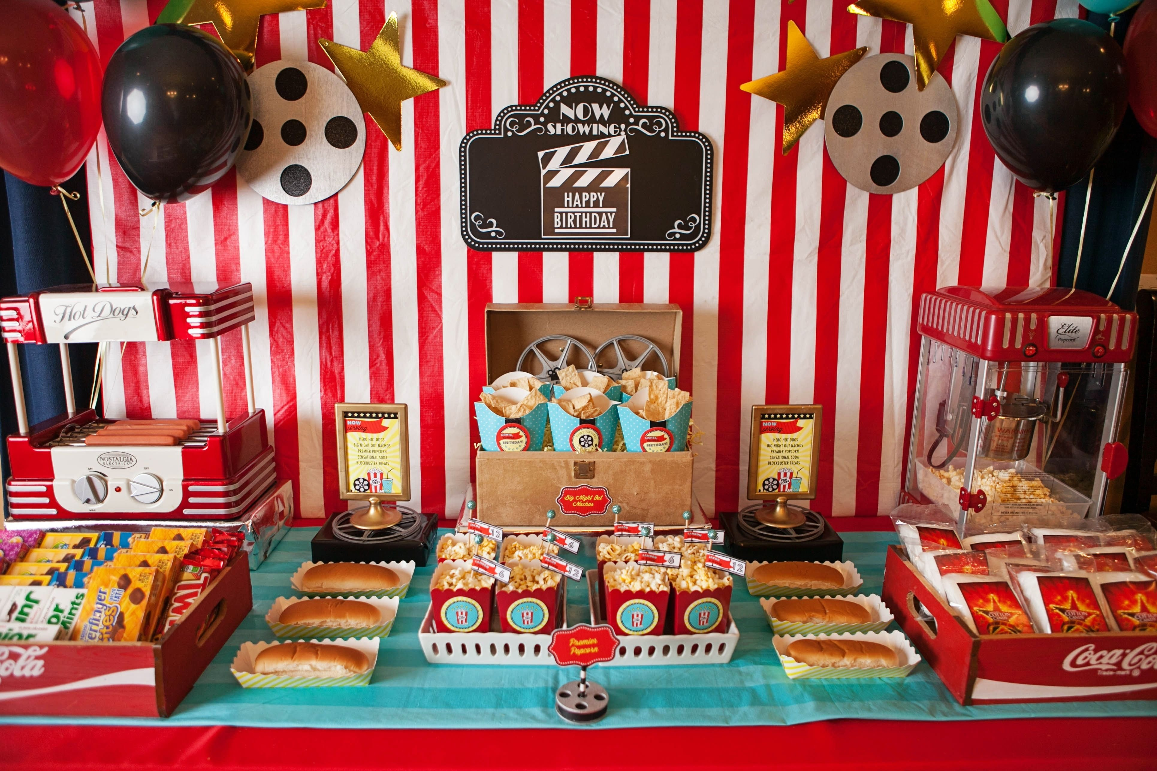 10 Unique Movie Theater Birthday Party Ideas movie theater party birthday party 2015 pinterest movie 2020