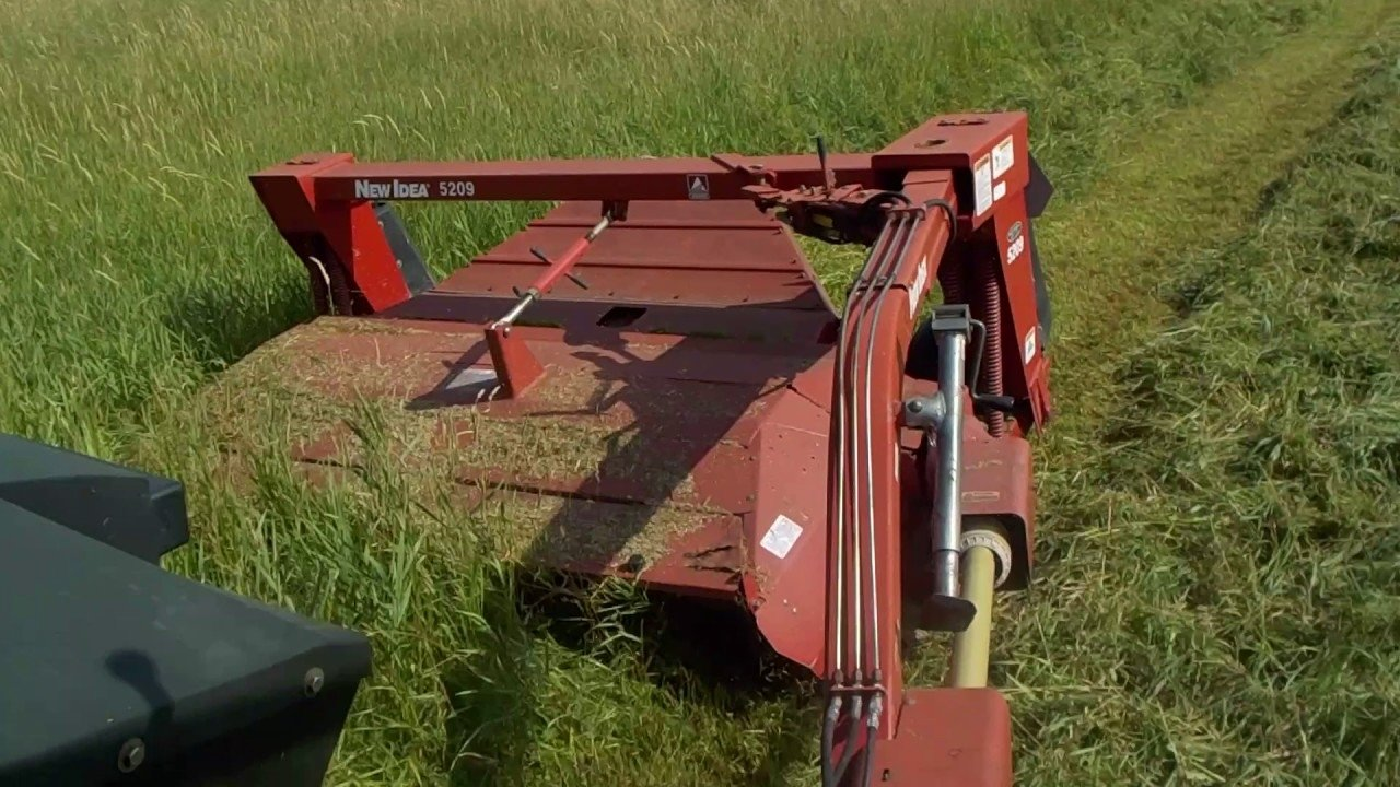 10 Most Recommended New Idea Disc Mower Parts mowing hay with the new idea 5209 youtube 2020