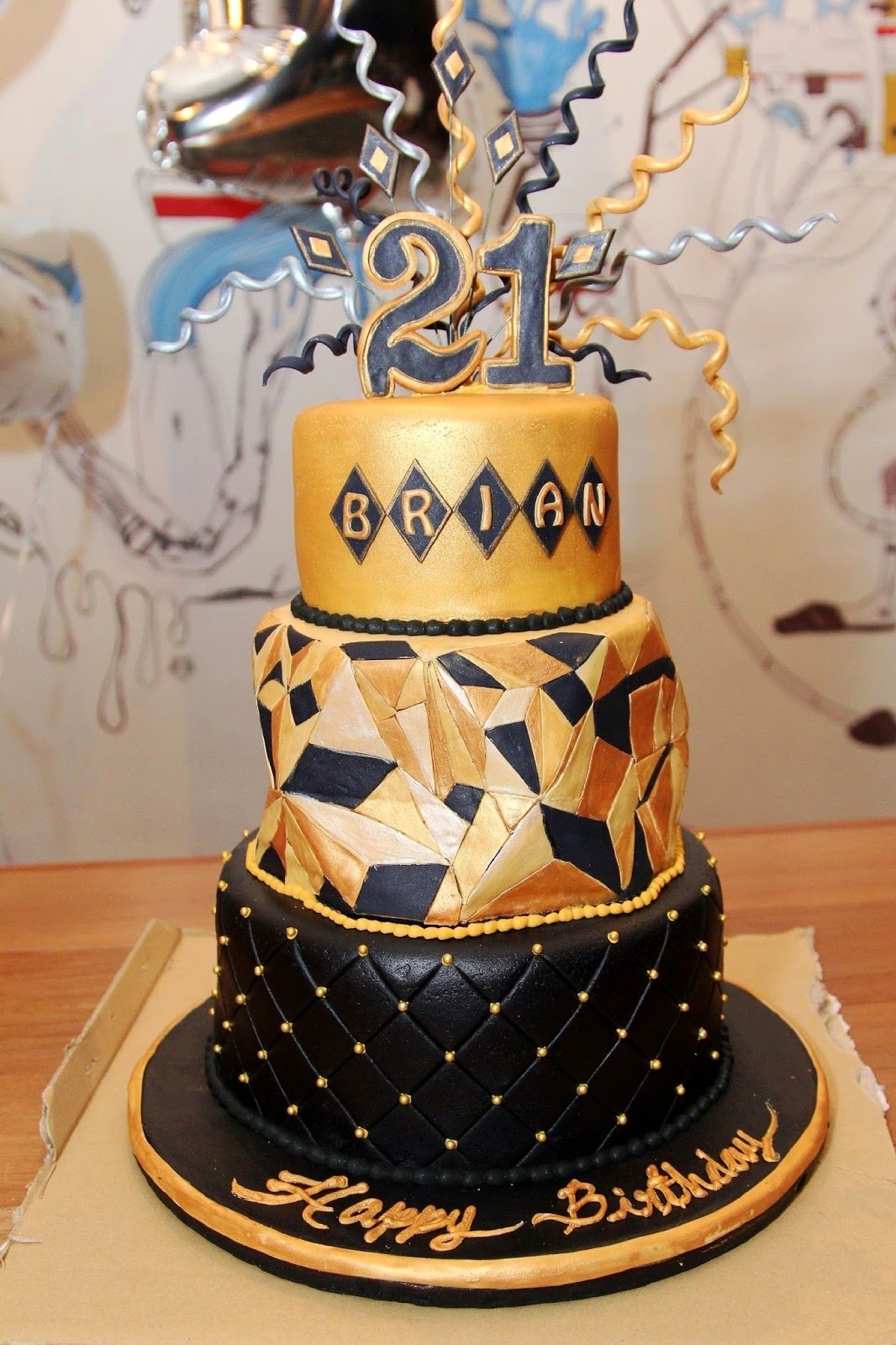 21St Party Decoration Ideas For Guys Birthday
