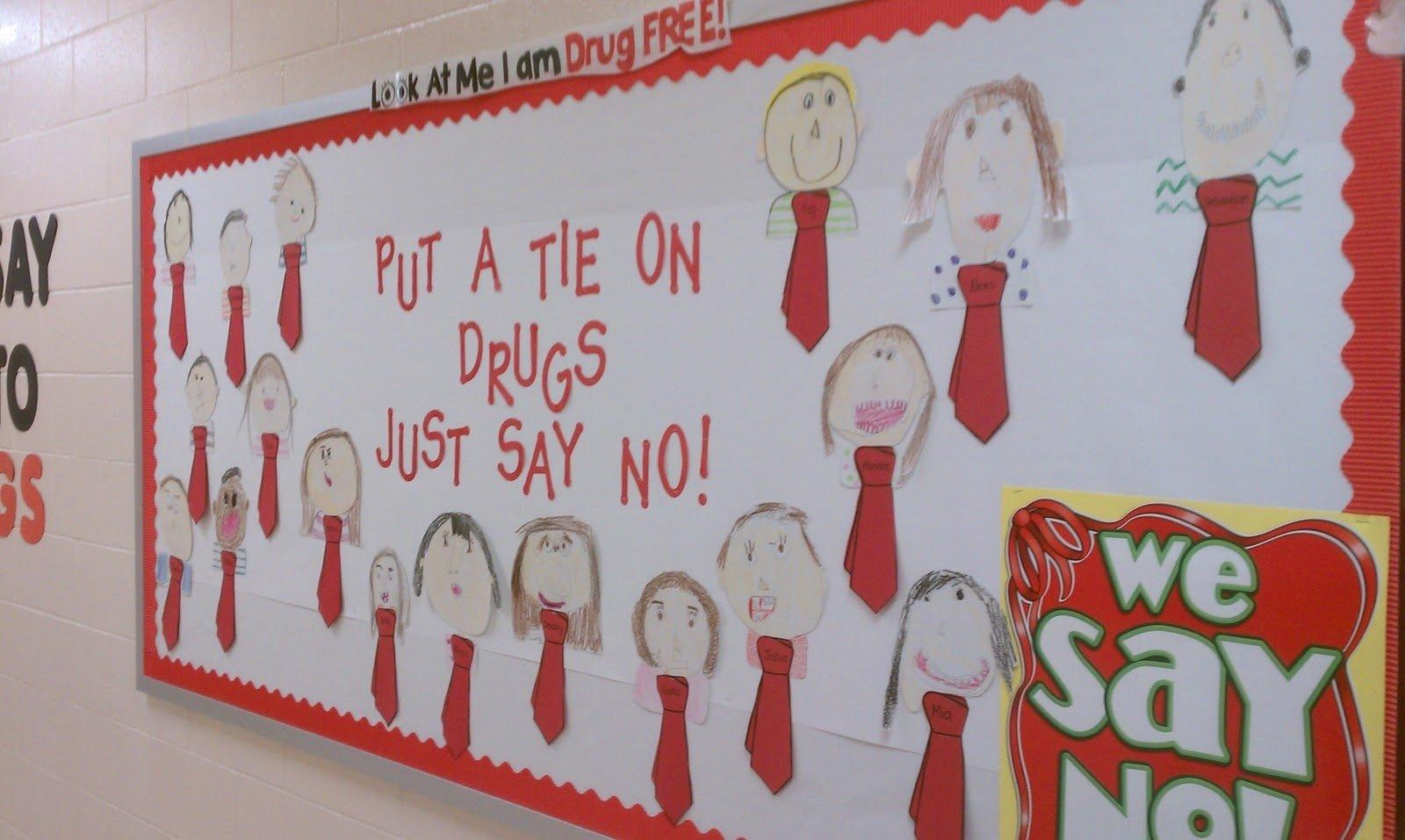 10 Great Red Ribbon Week Bulletin Board Ideas mrs ayalas kinder fun red ribbon week
