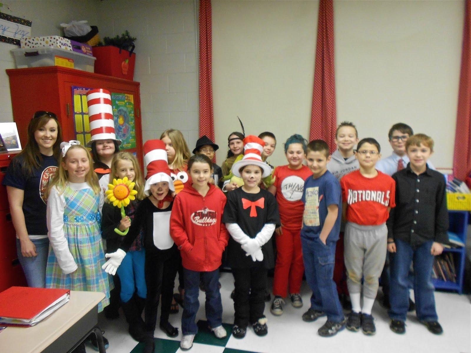 mrs mcdonald#039;s 4th grade: march 2013, dr seuss characters