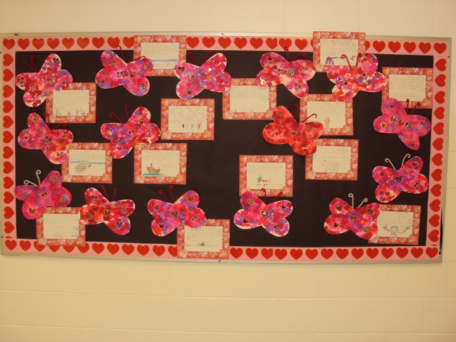 10 Pretty Valentine Bulletin Board Ideas Teachers mrs seymours super stars valentines day bulletin board idea 1