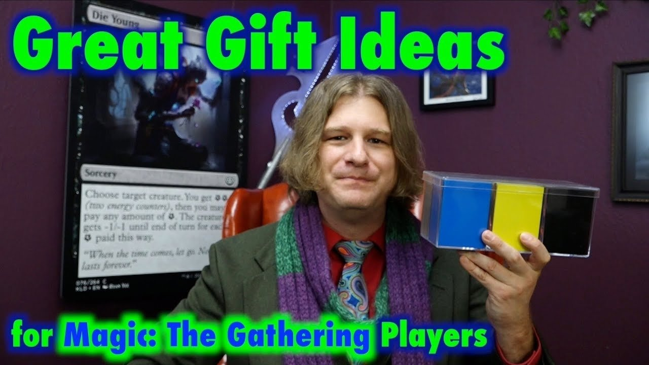 10 Most Popular Magic The Gathering Gift Ideas mtg great gift ideas for magic the gathering players youtube 2020