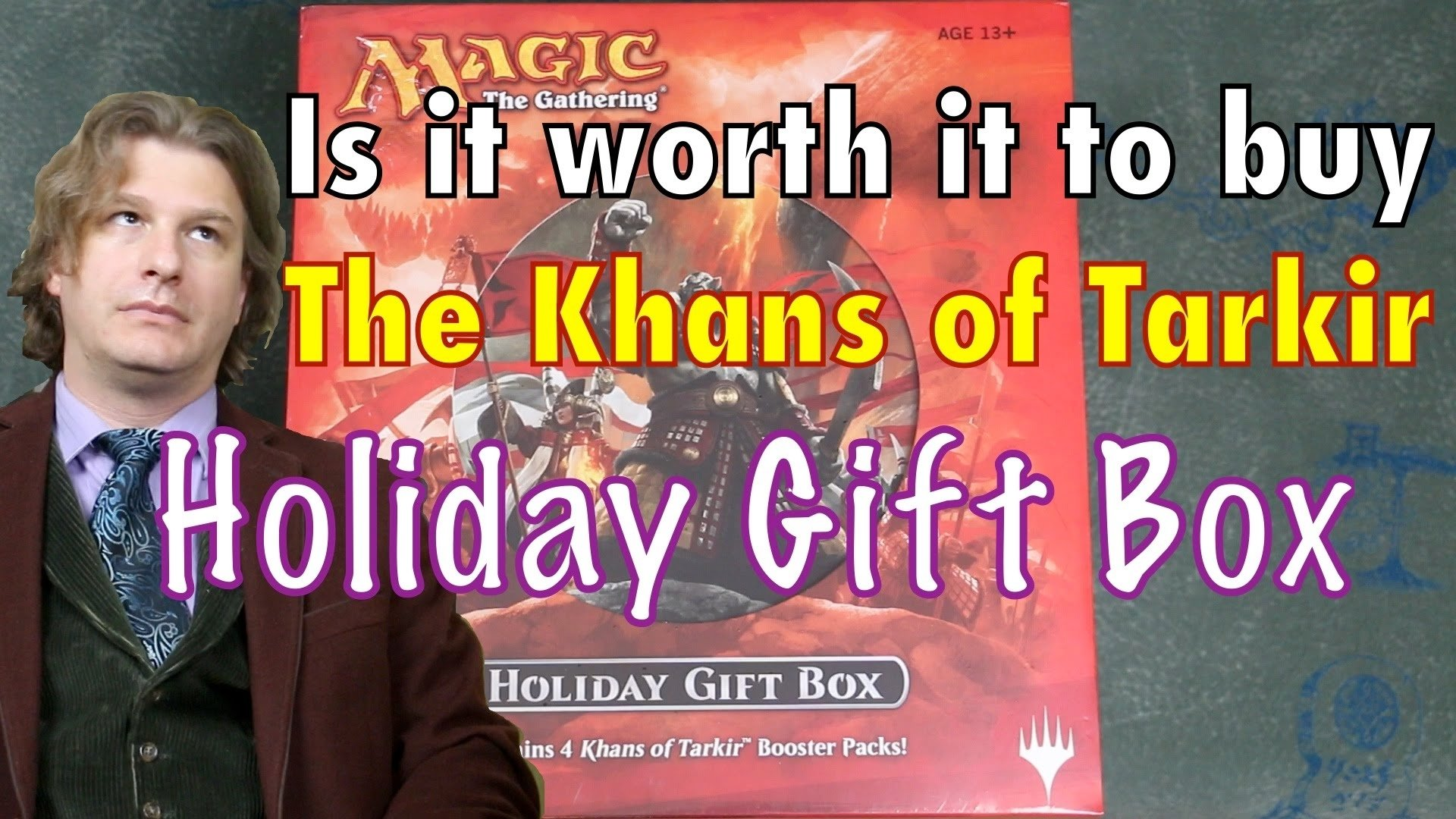 10 Most Popular Magic The Gathering Gift Ideas mtg is it worth it to buy the khans of tarkir holiday gift box 2020