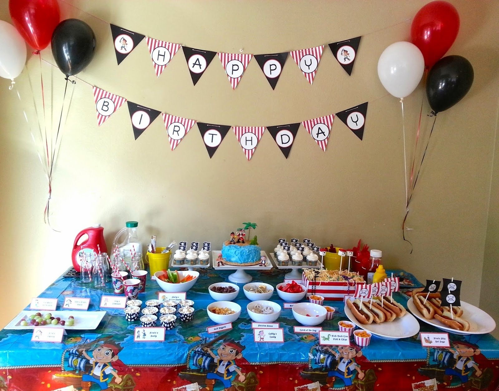 10 Pretty Jake And The Neverland Pirates Birthday Party Ideas much kneaded jake and the neverland pirates birthday party part 1 2020