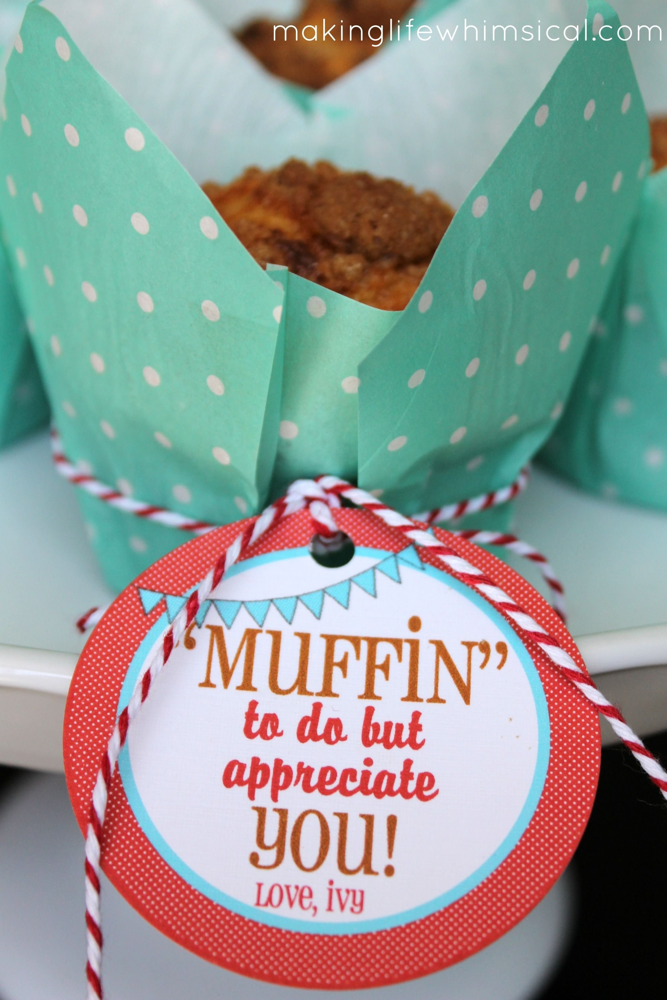 10 Most Recommended Cute Ideas For Teacher Appreciation Week muffin to do but appreciate you cute for teacher appreciation week 2020
