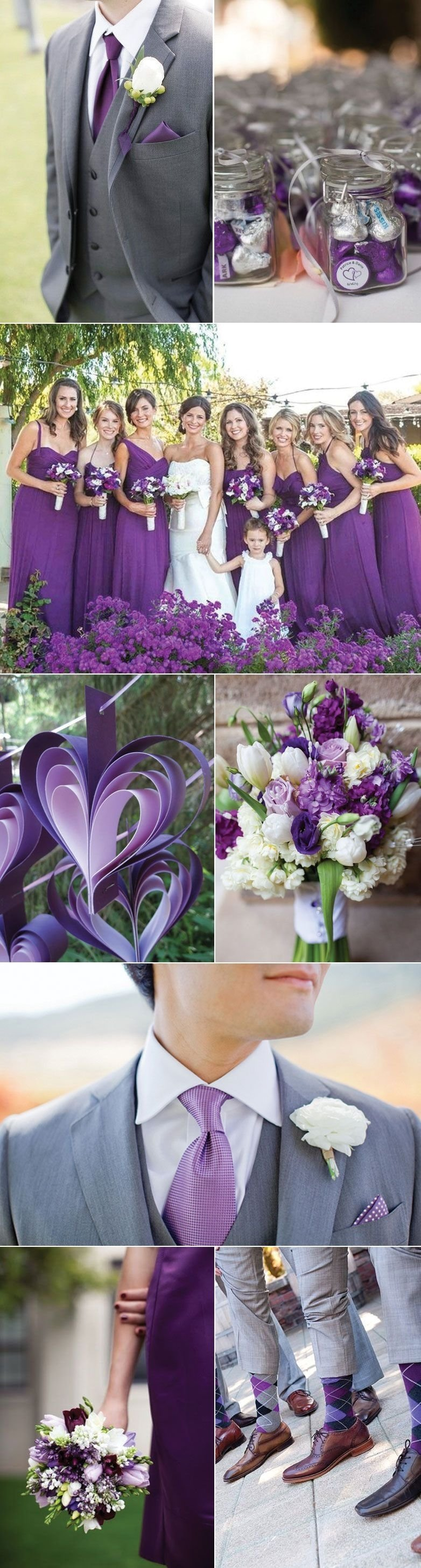 10 Fabulous Purple And Silver Wedding Ideas mulberry wedding ideas and visual inspiration wedding color