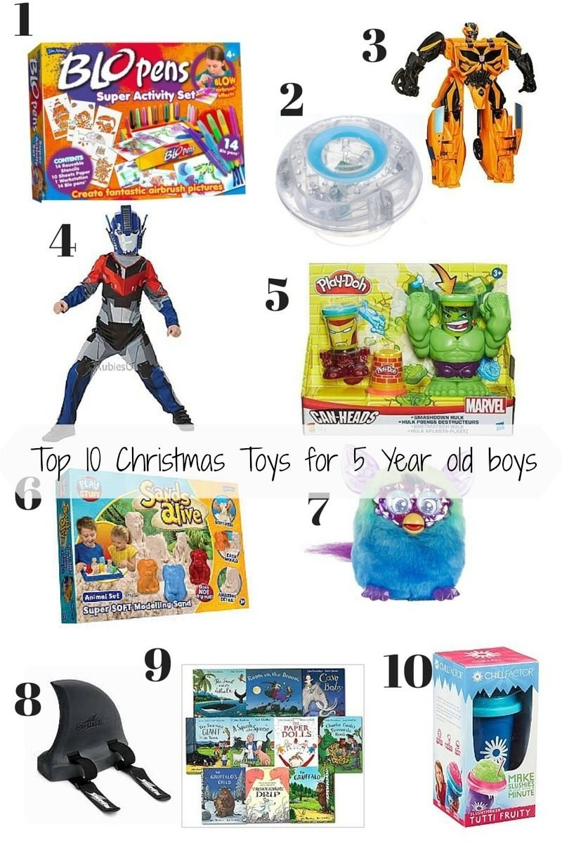 10 Fabulous Gift Idea For 5 Year Old Boy mummyandmonkeys christmas toys toy and christmas gifts 2