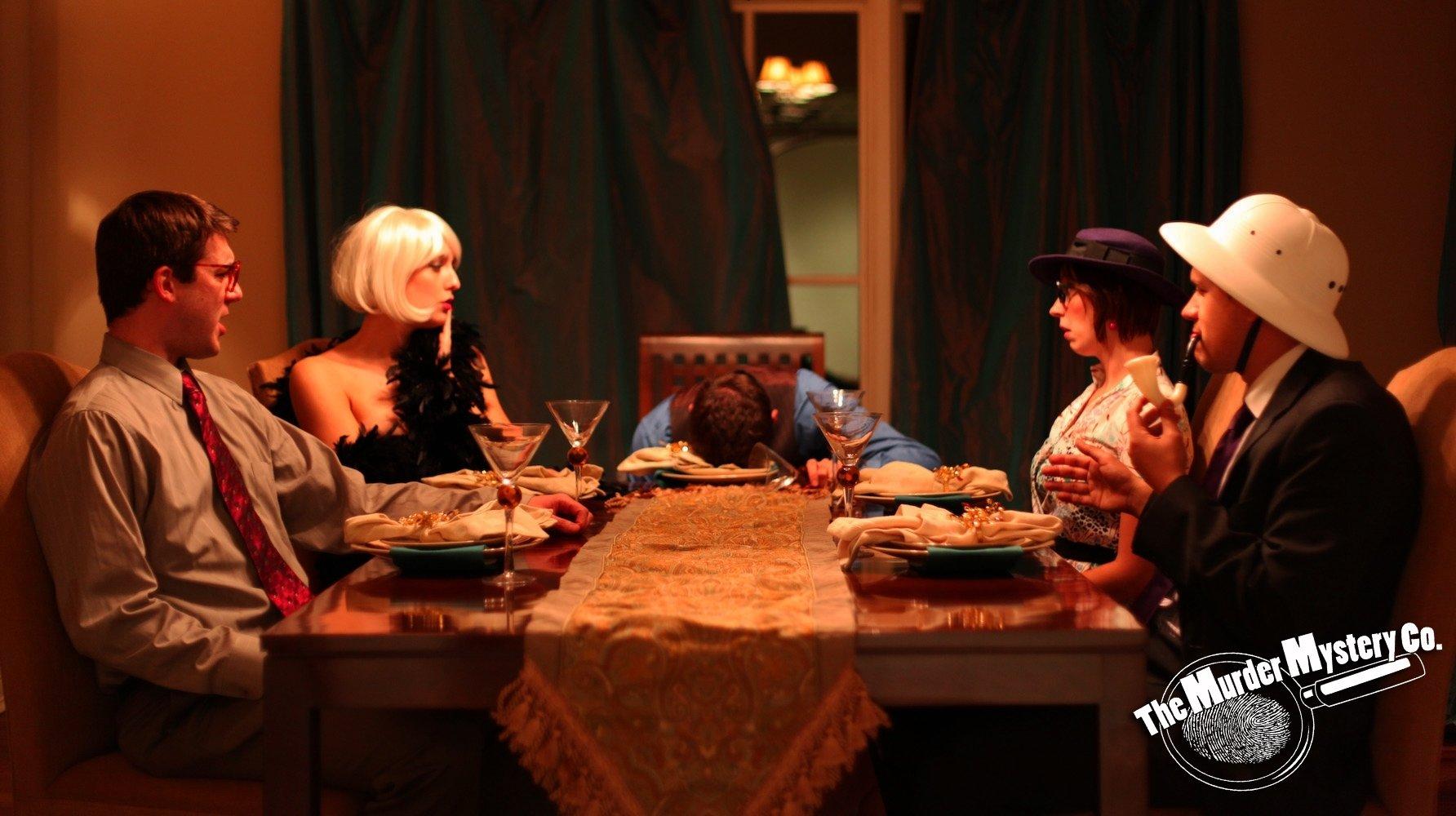 10 Fabulous Murder Mystery Dinner Party Ideas murder mystery dinner 21st idees pinterest murder mysteries 2021