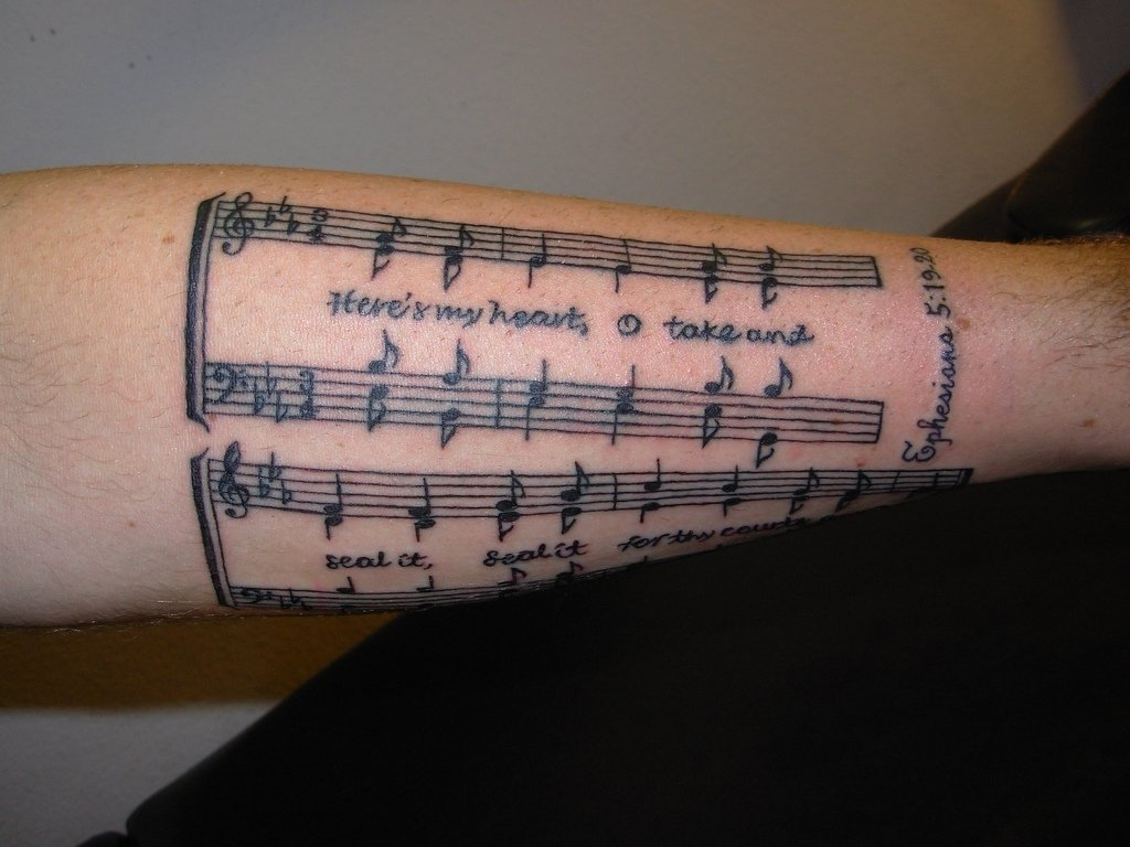 10 Stylish Music Tattoo Ideas For Men