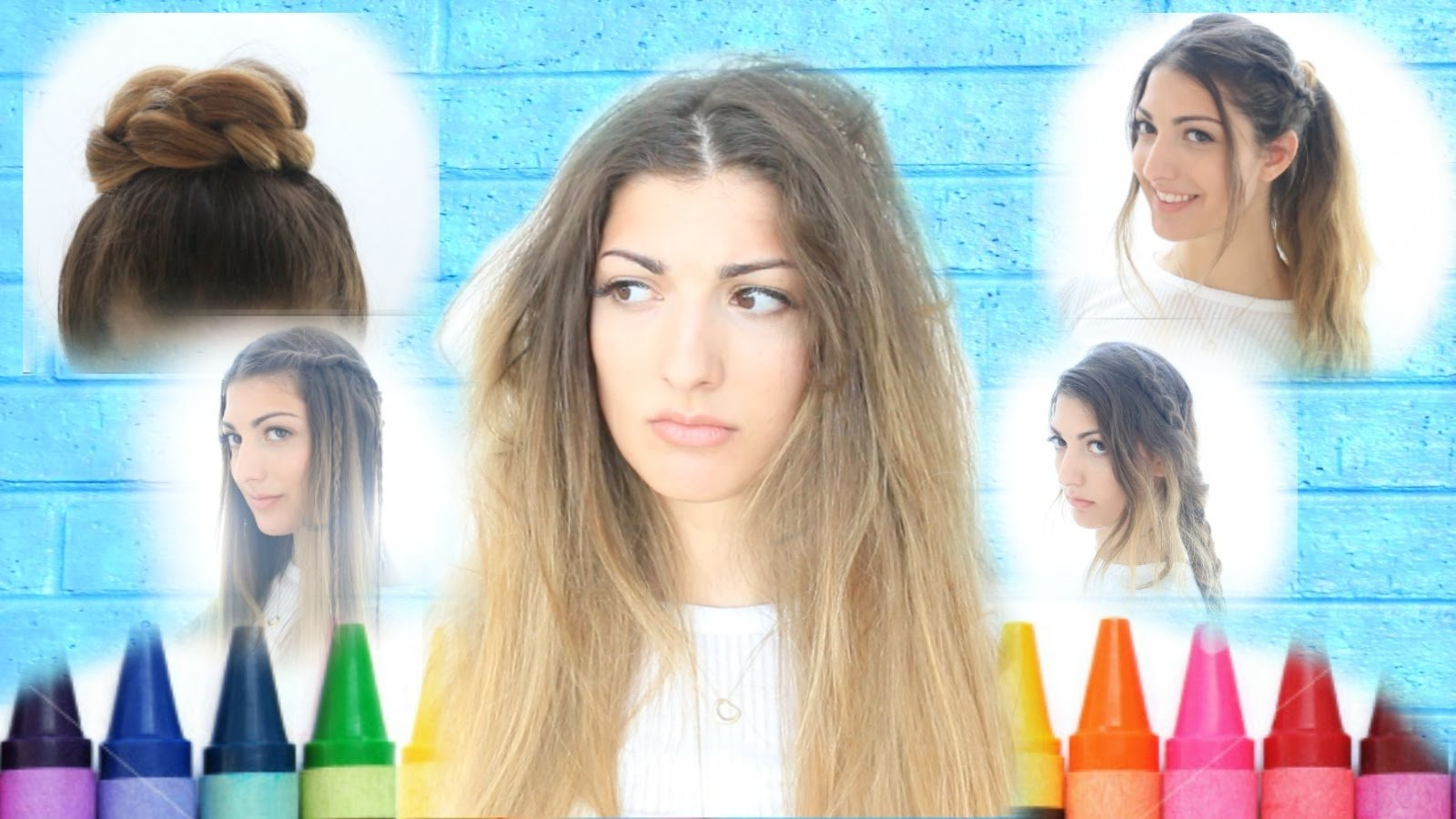 10 Unique First Day Of School Hair Ideas my back to school hairstyles youtube 2020