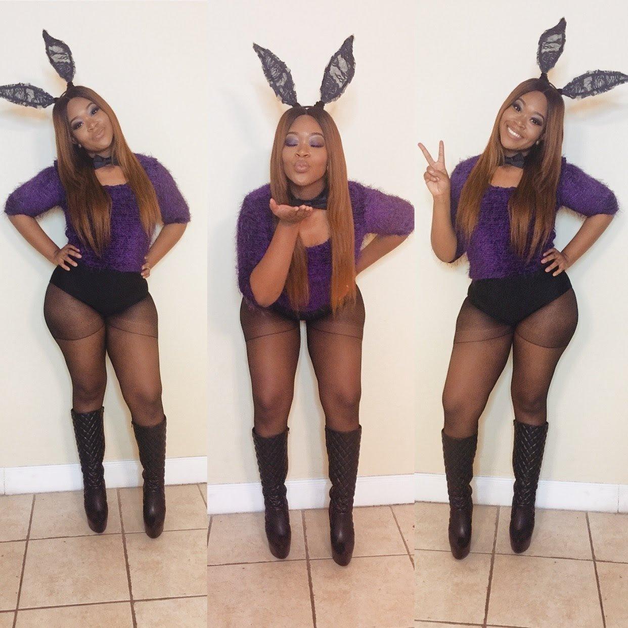 10 Cute Sexy Easy Halloween Costume Ideas my basic bunny rabbit costume halloween 2015 youtube 2020