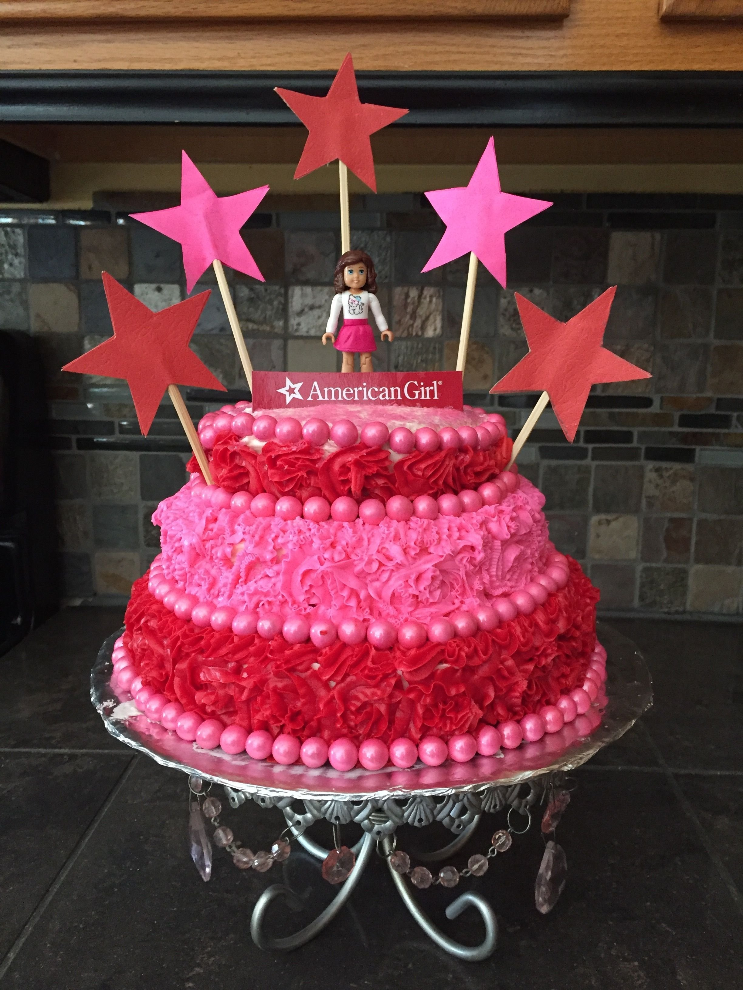 10 Amazing American Girl Birthday Cake Ideas