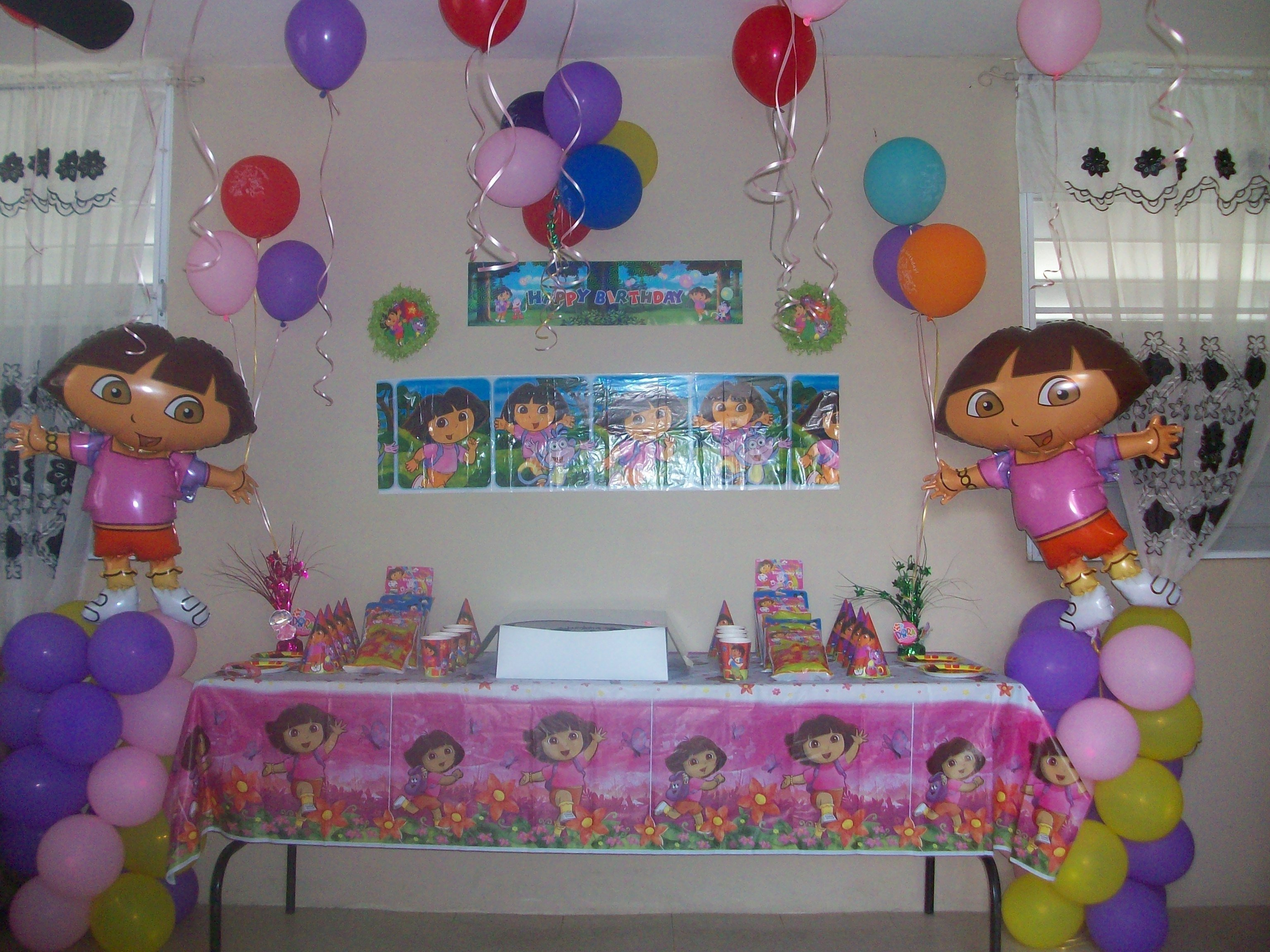 my daughter's 3 year old birthday party :) | party decor ideas