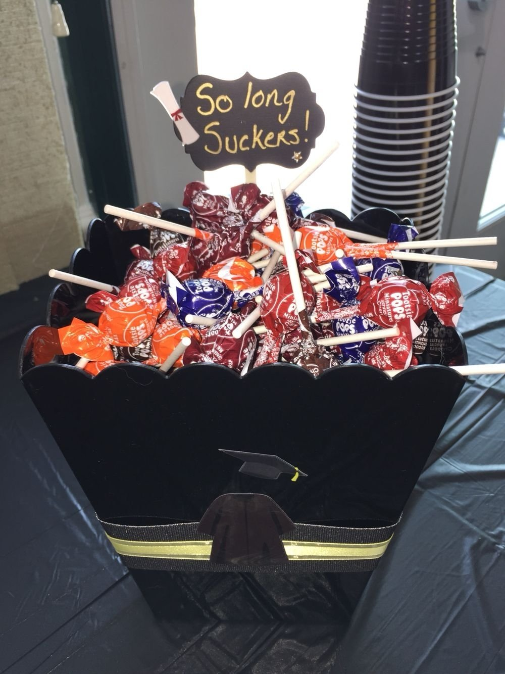 10 Great High School Graduation Party Ideas Pinterest my daughters candy bar for graduation graduation party ideas 2020