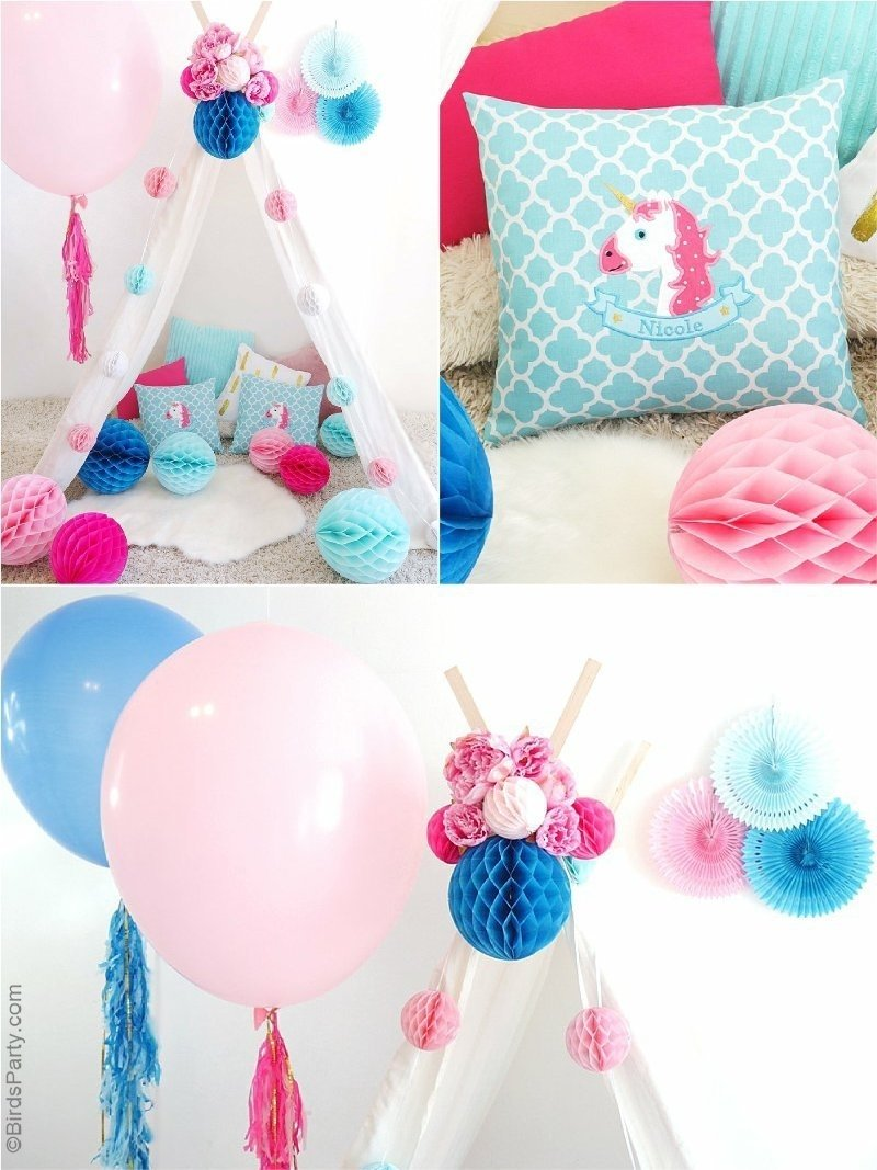 10 Most Recommended Ideas For A Slumber Party my daughters unicorn birthday slumber party party ideas party 1 2020