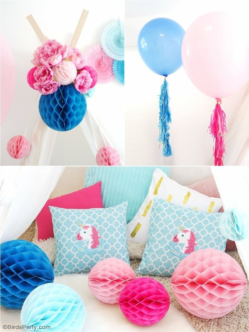 10 Fashionable Slumber Party Ideas For Girls my daughters unicorn birthday slumber party party ideas party 2020