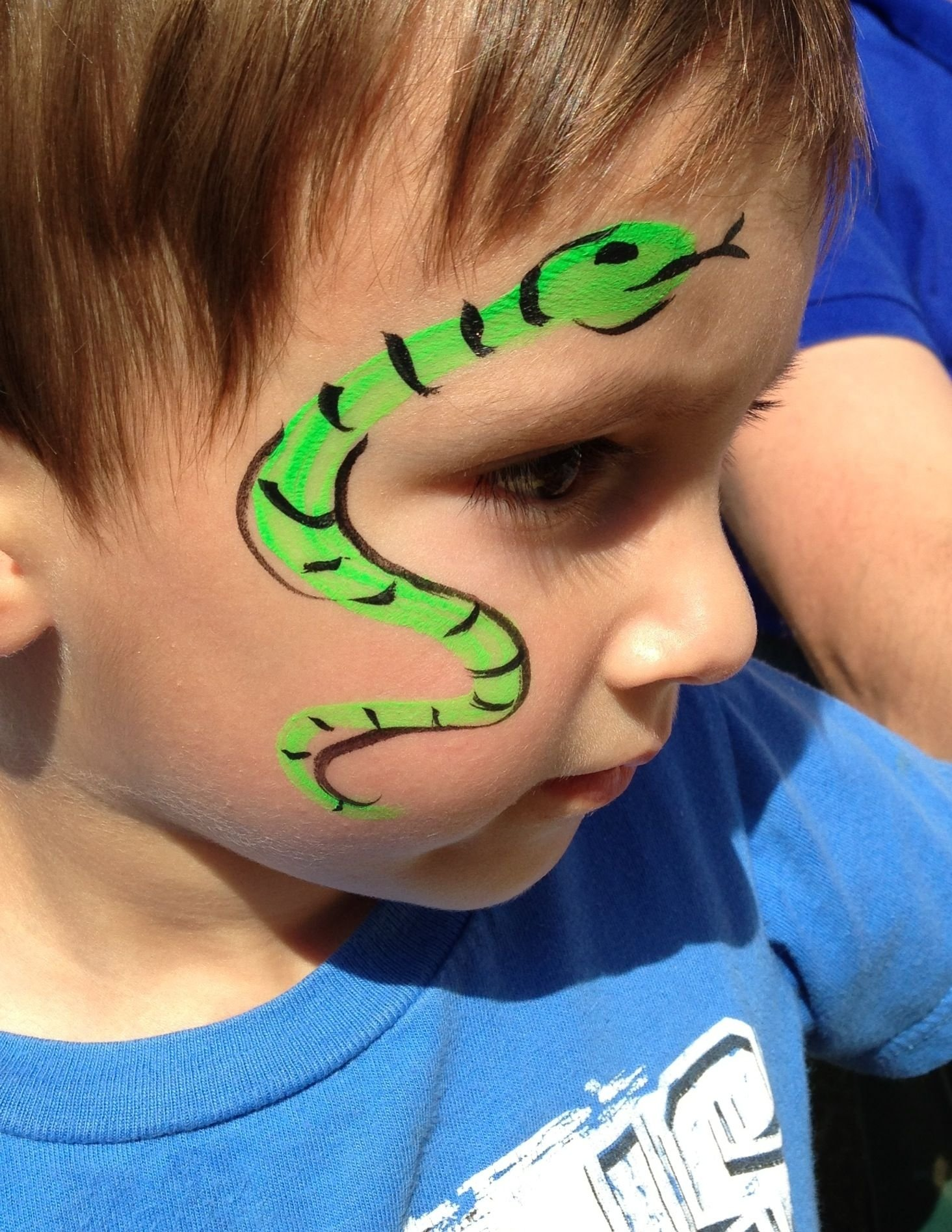 10 Attractive Easy Face Painting Ideas For Kids My This Summersnake