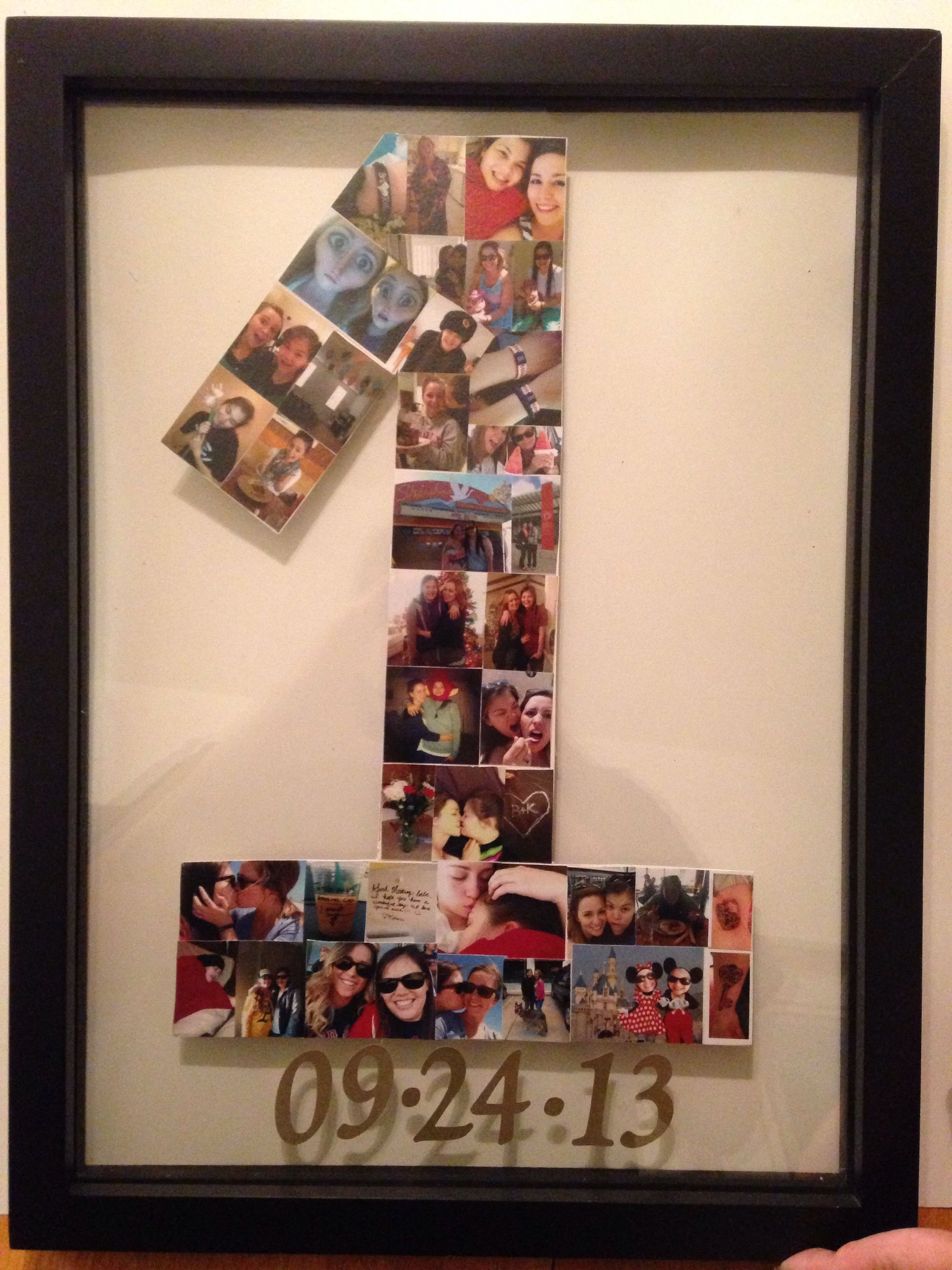 10 Famous 1 Year Anniversary Ideas For Girlfriend my first pinterest project my wonderful mom helped me anniversary 2 2020